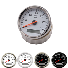 Tachometer Truck Boat Rev-Counter Rpm-Gauge 3000RPM Backlight 85mm with Car