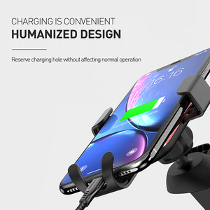 Image 5 - Mcdodo Universal Car Phone Holder For iPhone X XS Max Samsung Huawei Car Air Vent Mount Holder Metal Gravity Mobile Phone Holder