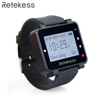 Retekess T128 433.92MHz Watch Receiver for Wireless Calling System Waiter Call Pager Restaurant Equipment Customer Service