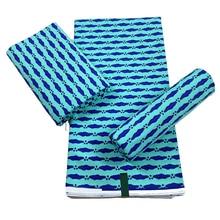 Ankara Printed Batik Striped Fabric Real Wax African Sewing Material 100% Cotton High Quality Tissu Garment Crafts