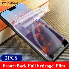 25D Hydrogel film for huawei P20 P20peo P20lite Front+Back screen protector P10 P10lite P30 P30lite P30pro Psmart2019