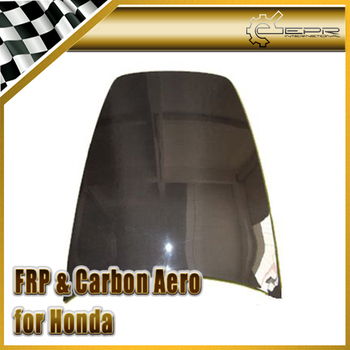 Carbon Fiber Hood Trim for Honda S2000 Glass Fiber OEM Hood Body Kit Tuning Trim for S2000 Racing Lightweight Part