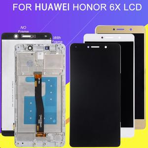 Catteny 1Pcs For Huawei Honor 6X Lcd Display BLN-L24 BLN-AL10 BLN-L21 Display With Touch Screen Digitizer Assembly GR5 2017 Lcd