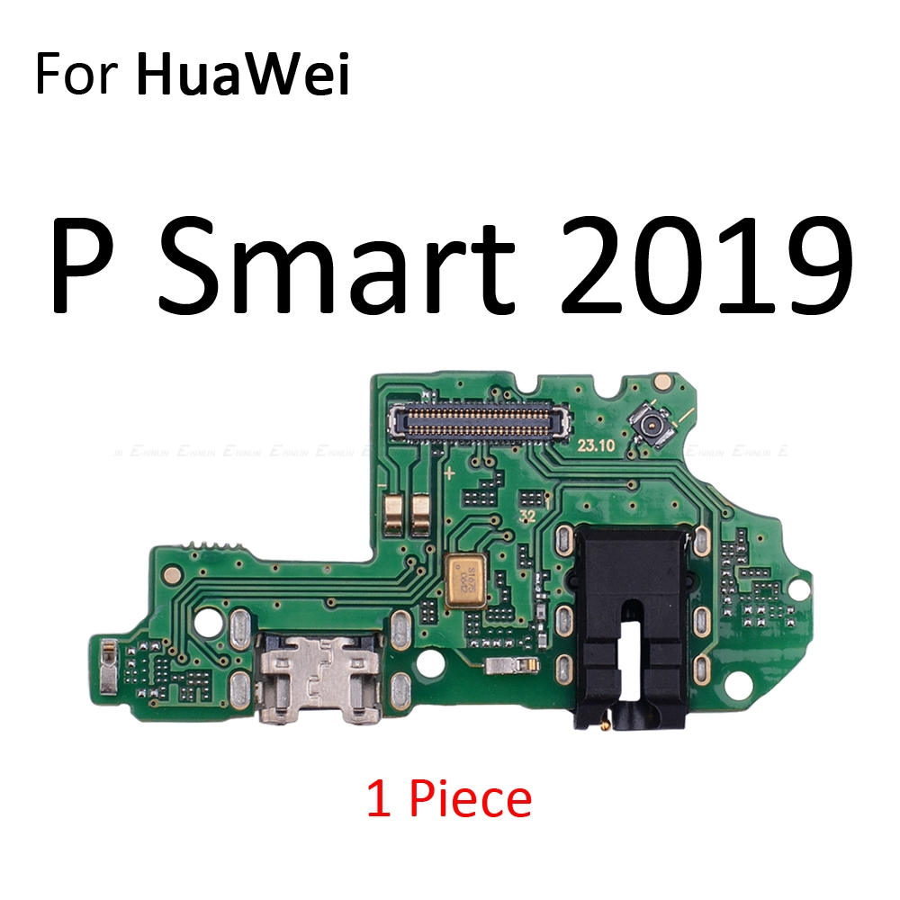 Charging Port Connector Board Parts Flex Cable With Microphone Mic For HuaWei Mate 20 10 9 Pro Lite P Smart Plus 2019