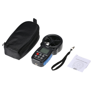 Image 4 - HoldPeak HP 866B Mini LCD Digital Anemometer thermometer anemometro Wind Speed Air Velocity Temperature Measuring with Backlight
