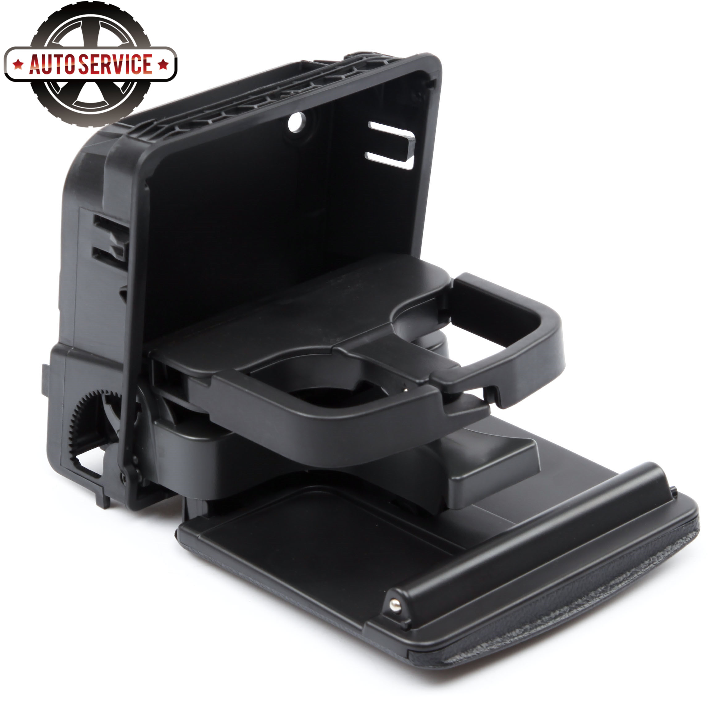 New 1K0 862 532 F Black Central Console Armrest Rear Cup Drink Holder For Jetta MK5 5 Golf MK6 EOS Rabbit 1K0862532G 1KD862533D