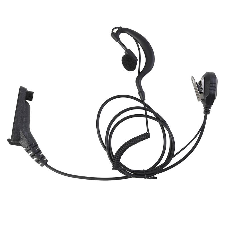 Earpiece Headset With PTT Earhook For Motorola APX4000 APX2000 APX6000 XPR6300 XPR6380 XIR P8200 XIR P8208 MTP6550 Radio