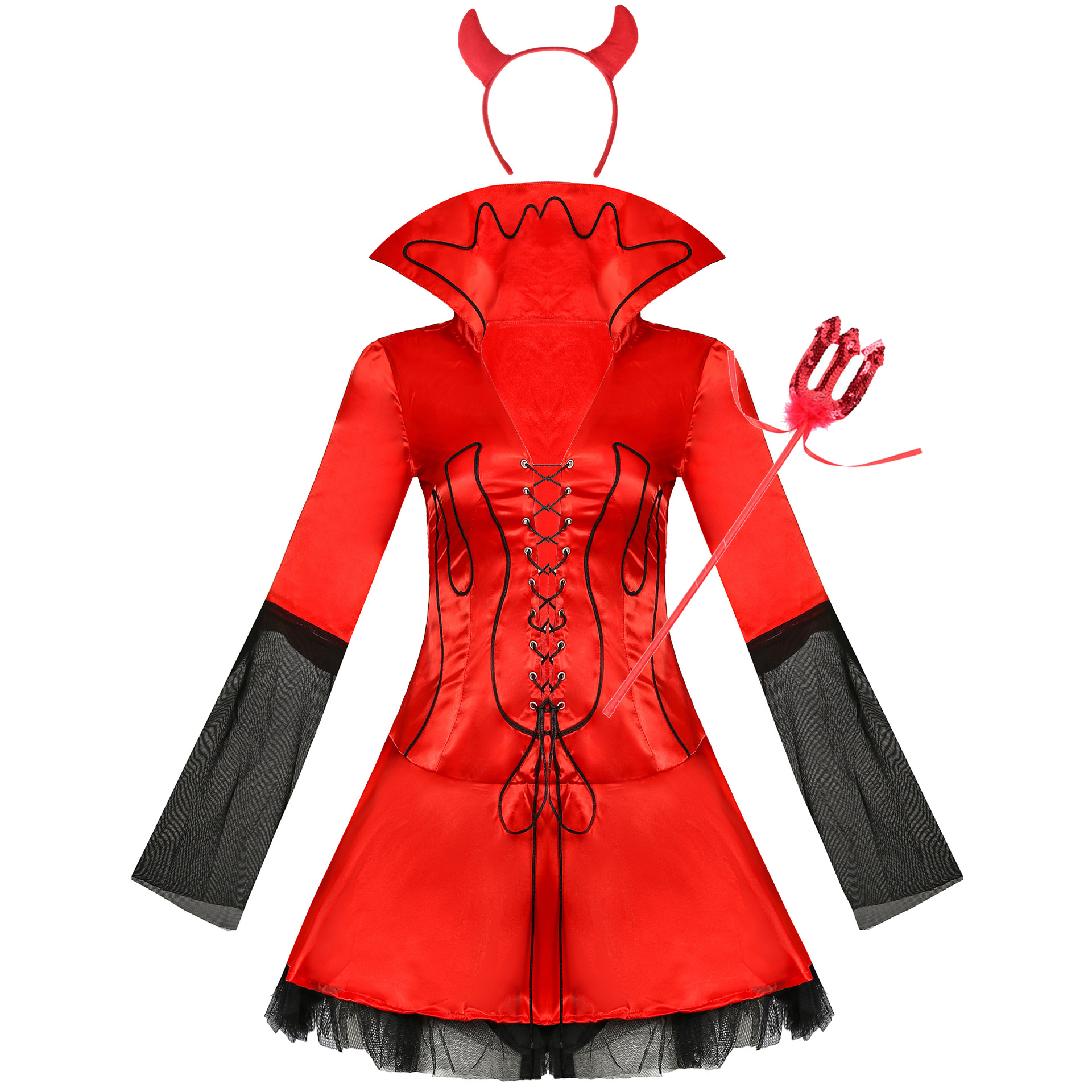 Europe And America Halloween Demon Clothing Character Cosplay Costumes