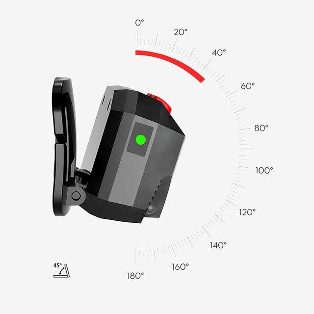 Linterna LED inteligente de inducción de pesca de alta calidad, minilinterna USB con batería integrada, luz COB multifunción para exteriores DOG88