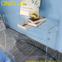 Desk Arylic Hallway Wedding/console Table-Decorative Clear Flat-Packed Stand-Various-Size