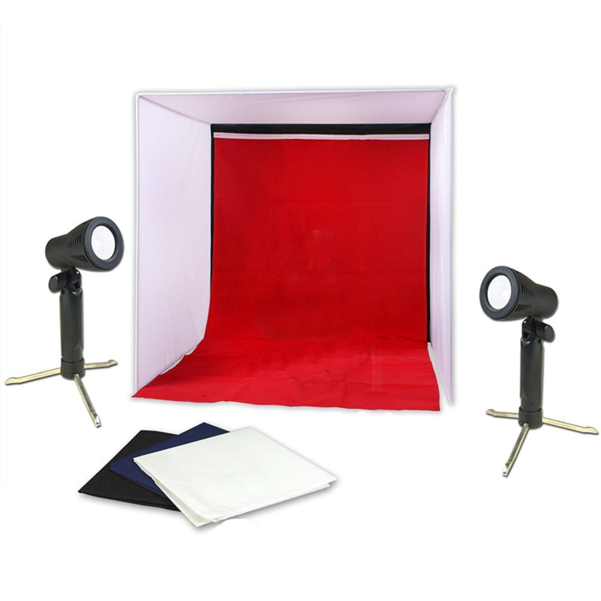 40*40 Cm Mini Folding Lightbox Photography Studio Softbox LED Light Photo Studio Soft Box Shooting Tent Softbox Cube Box