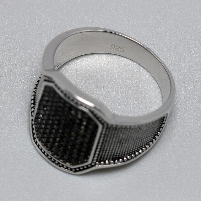 Фото однотонные серебряные кольца 925 пробы крутое ретро винтажное цена