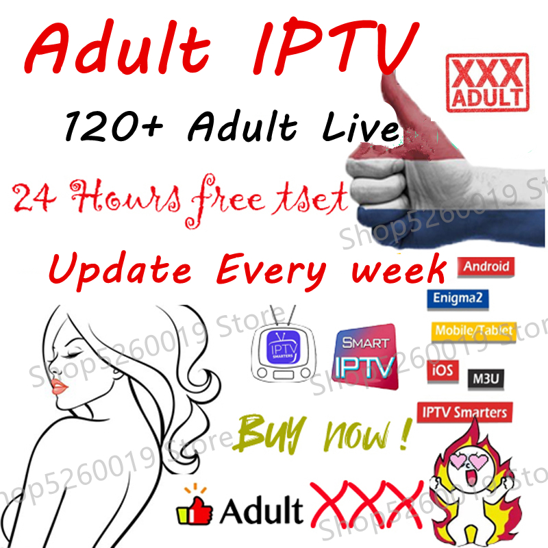 Iptv Adult Subscription 120+ Adult Xxx Live M3u Iptv Channels Update Every Week For Android Tv Box Smart Tv Mag Enigma Pc Phone