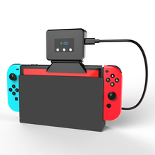 Cooling Fan for NS Switch External Turbo Pumping Cooler Radiator Base Heat Sink Temperature Display for Nintendo Switch Console