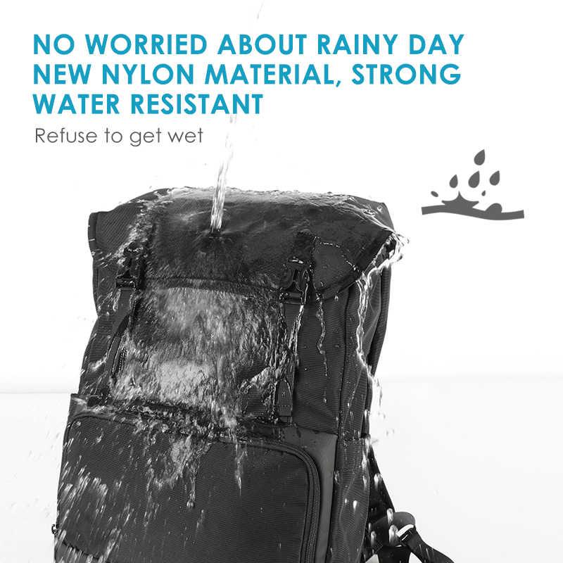 2020 Tigernu nowy plecak podróżny o dużej pojemności mężczyźni wysokiej jakości wodoodporny 15.6 calowy plecak szkolny na laptopa torby USB mężczyzna kobieta