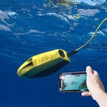 Визуальный подводный Дрон Мини RC модель подводных лодок HD фото камера Пульт дистанционного управления корабль Робот для обнаружения рыбы высокотехнологичная игрушка