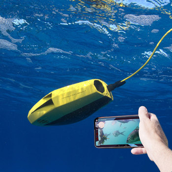 Mini RC Model Underwater Robots With 1080P Full HD lens for Travel Outdoors Use