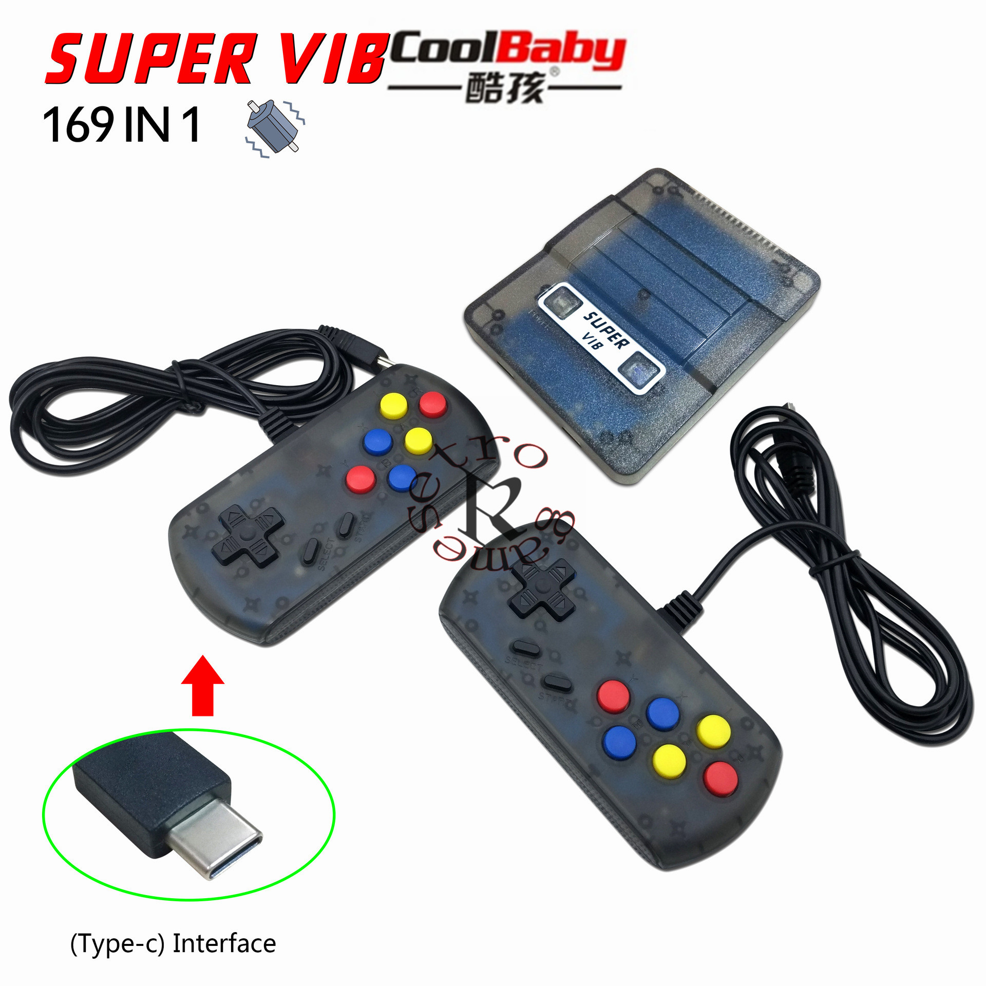 DHL Newest Super VIB TV Games Mini TV Game Console 8 Bit Retro Video Game Console Built-In 169 Games Handheld Gaming Player