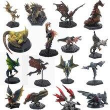цена на Japan Anime Monster Hunter World XX Figure PVC Models Hot Dragon Action Figure Decoration Toy Monsters Model Collection