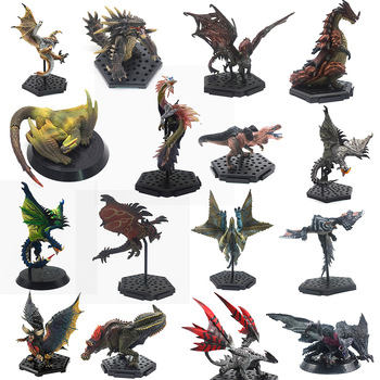 Japan Anime Monster Hunter World XX Figure PVC Models Hot Dragon Action Figure Decoration Toy Monsters Model Collection 1 6 pl2016 85 female hunter huntress arhian full set action figure models collections