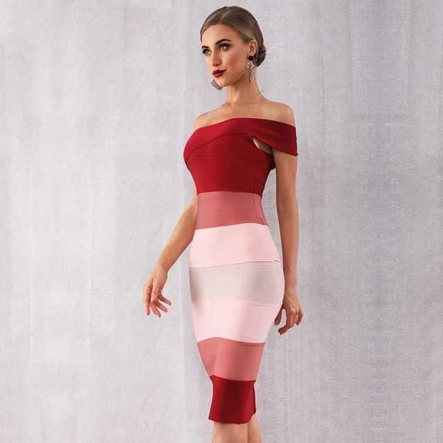 Seamyla новинка 2021 летние женские бандажные платья пикантные