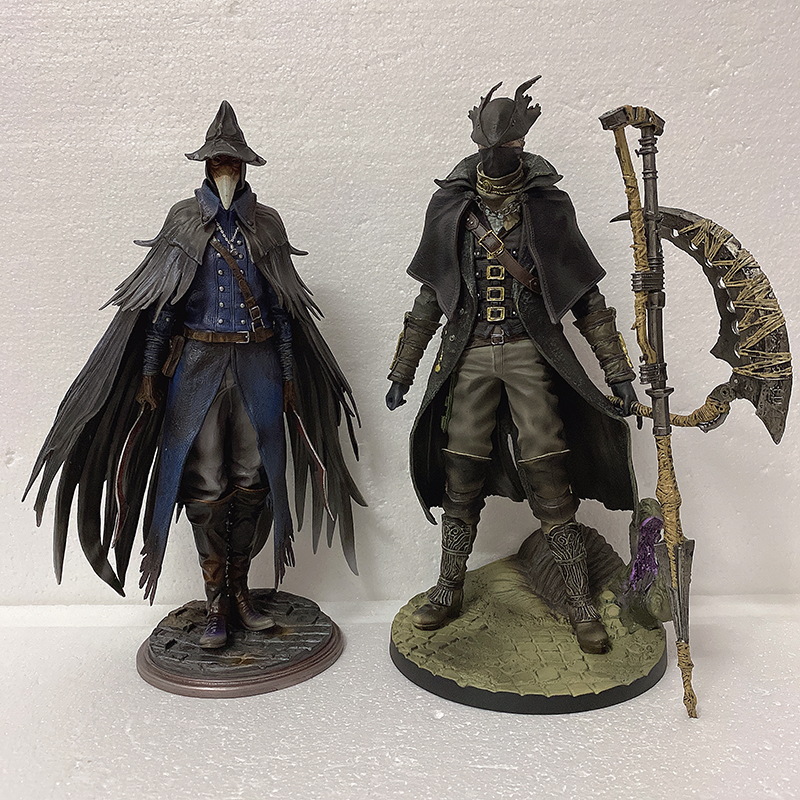 Bloodborne Figure The Old Hunter Sickle Action Figure Eileen The Crow Bloodborne Action Figure 1/6 Scale Toys Doll Gifts 12inch