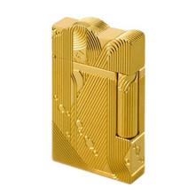 2020 złoty sen wzór syrenki Vintage zapalniczki zapalniczki gazowe klasyczne dźwięk metalowe zapalniczki ogień mężczyźni kolekcja tanie tanio Hand carved LE029 Gold Silver 145g Butane Ping Sound Lighters Flame Lighter Made in France