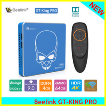[De] apagado Beelink GT-KING PRO Amlogic S922X-H Smart Android 9,0 TV Box 4GB DDR4 64GB ROM 4K HD alta fidelidad reproductor de medios