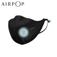 AirPop Ánh Sáng 360 ° Mặt Nạ Chống Khói Bụi Không Mặc PM2.5 Chống Haze Khẩu Trang Có Thể Điều Chỉnh Tai Treo Thoải Mái nam Nữ 5 Lớp Lọc