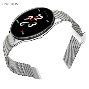 Image 1 - Epopoos smart watch 2020強化ガラスタッチスクリーンフィットネススマートウォッチIP68防水心拍数血圧smart watch es