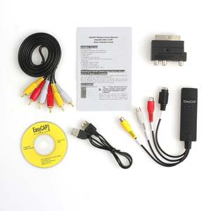 VHS To Pc-Adapter Dvd-Converter Record-Capture Audio Video Digital Analog USB2.0 Format
