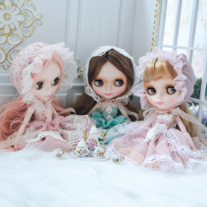 Image 2 - Neo Blyth Doll Customized NBL Shiny Face,1/6 OB24 BJD Ball Jointed Doll Custom Blyth Dolls for Girl, Gift for Collection