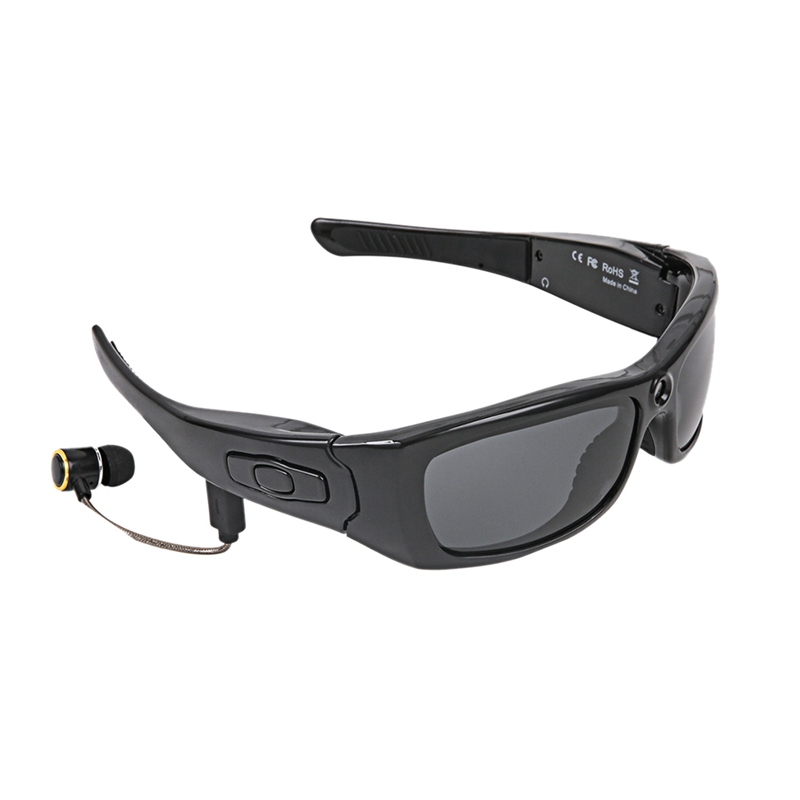 Sunglasses Camera Headset Hd1080P Bluetooth Mp3 Player Photo Video Recorder Mini Dv Camcorder For Outdoor Mini Camera Glasses