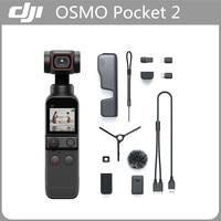 DJI Osmo Tasche 2 Touchscreen Handheld 3-Achsen Gimbal Stabilisator Kamera 64MP ActiveTrack 3,0 Original DJI Tasche 2 Mit zubehör