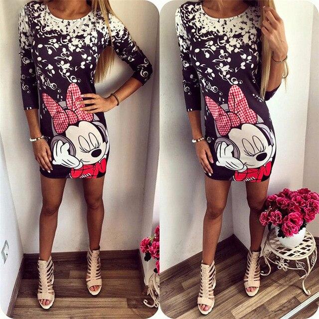 Half Sleeve Bodycon Vestidos O Neck Casual Ladies Dress 3
