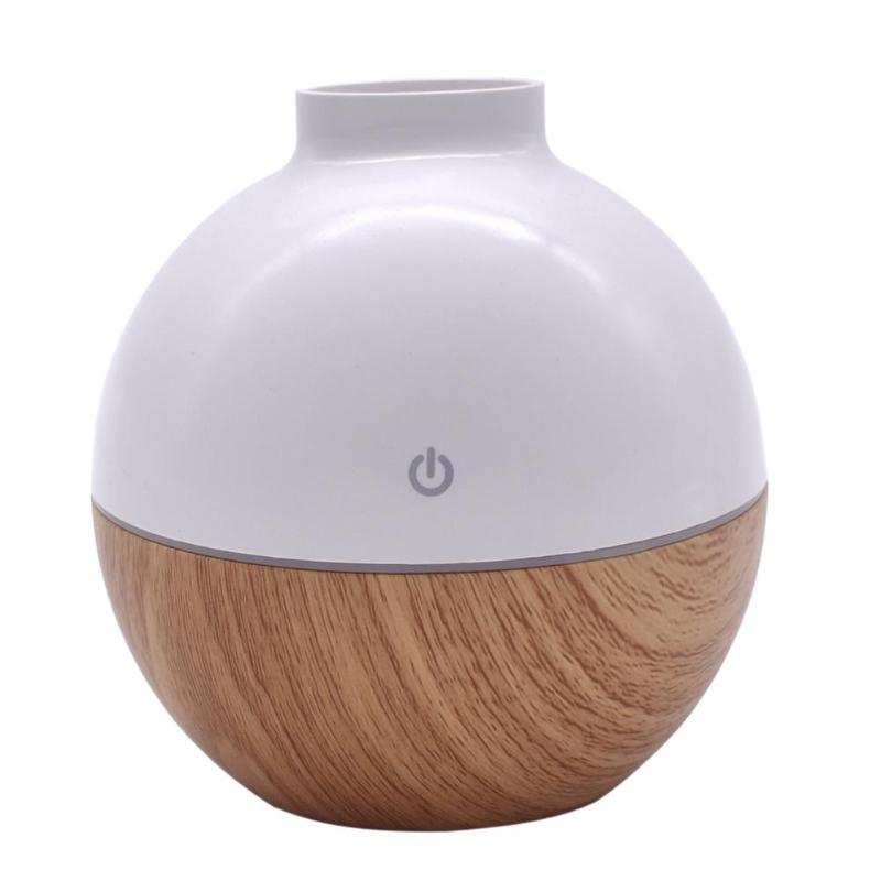 Диффузор эфирного масла умный датчик сенсорный увлажнитель древесины 7 цветов светодиодный ночник мини ароматерапия увлажнитель