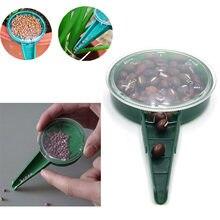 5 arquivo de planta ajustável semeador semeador plantador mão flor grama planta semeador jardim multifunções semeadura dispenser ferramentas acce