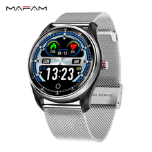MAFAM Smart Band Men Women Blood Pressure Ecg Heart Rate Monitor Smart Watch Fittness Tracker Smartband Android Ios Watch