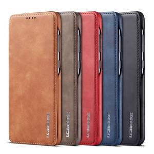 Image 1 - Simple Flip Case For Samsung Galaxy A20 A30 A40 A50 A70 Case Leather Magnetic Luxury Cover Case For Funda Samsung A20e A30S A50S