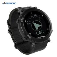 SUNROAD-Reloj deportivo Digital para Hombre, altímetro, barómetro, brújula, para correr, natación, resistente al agua, con GPS