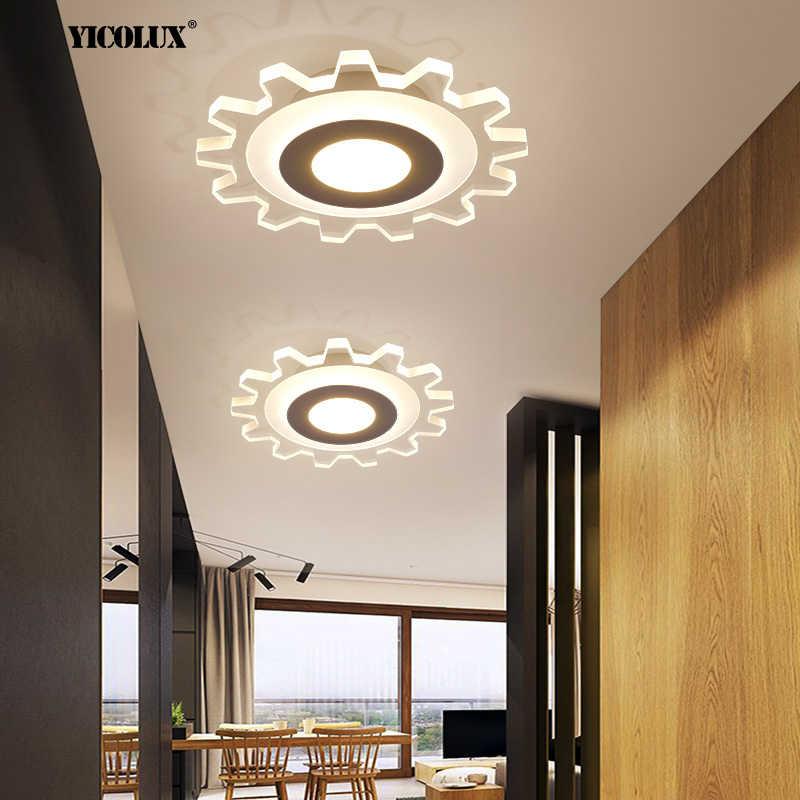 Moderno LED Acrilico Lampadario Luci Per Corridoio Corridoio Corridoio Scala Lampade Camera Da Letto Apparecchi di Illuminazione per Interni AC 90-260V
