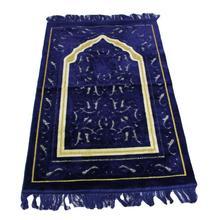 이슬람교 이슬람기도 매트 셔닐 실 두꺼운 담요 아랍어 Moslim 바닥 깔개 Arabe 카펫 Namaz 미끄럼 방지 이슬람 용품