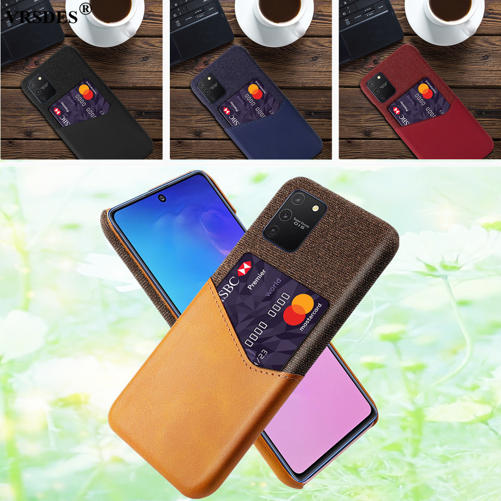 Business Case For Samsung Galaxy A91 A81 A71 A51 A41 Case Card Slots Cover Case For Samsung A91 A71 A41 A21 A11 A01 Capa Funda