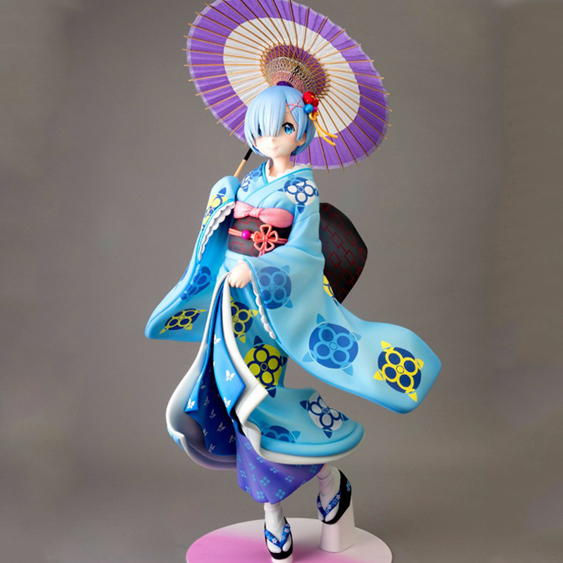 Rem kimono re zero Re life In A Different World From Zero Action Figure toys Re Zero Rem Christmas gifts for children kids