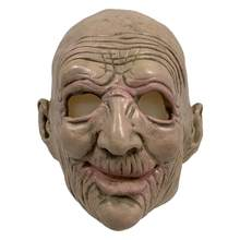 1PC Halloween Mask Masquerade Transgender Role Playing Old Man Latex Headgear Halloween Dress Up Props Prank Props(China)