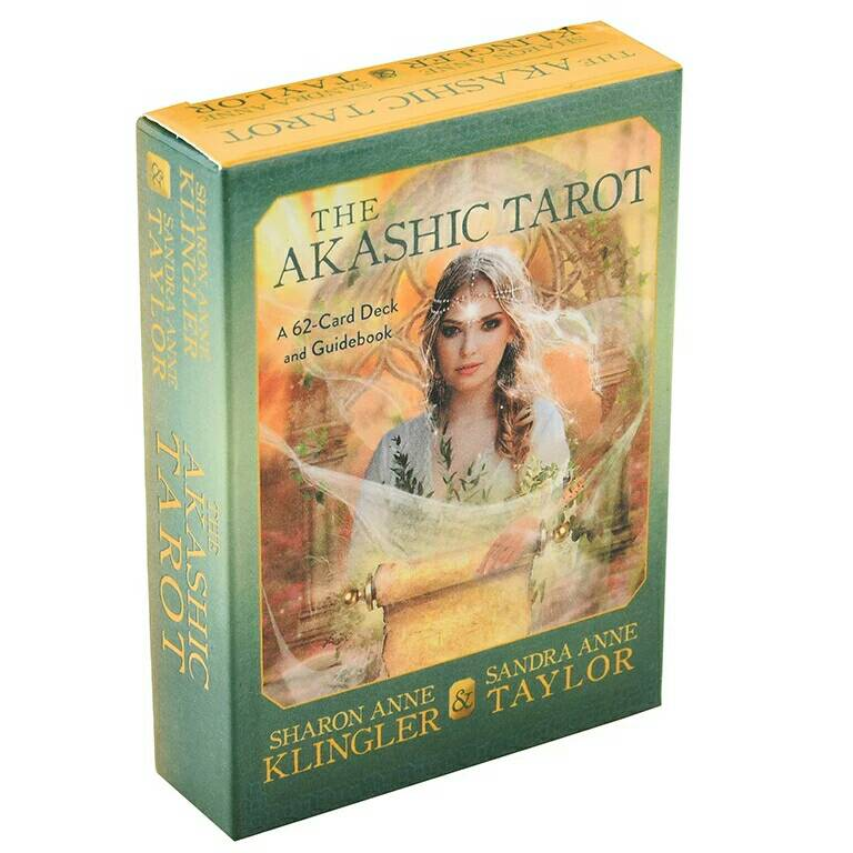 62 pz/set The Akashic tarocchi carte mazzo di carte gioco da tavolo gioco da tavolo dio inglese principiante spirito anima per regali familiari