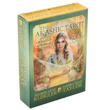 Juego de cartas de Tarot Akashic 62 unids/set, juego de mesa de cartas de Taort, inglés, adivinación, principiantes, Spirit Soul para regalos familiares