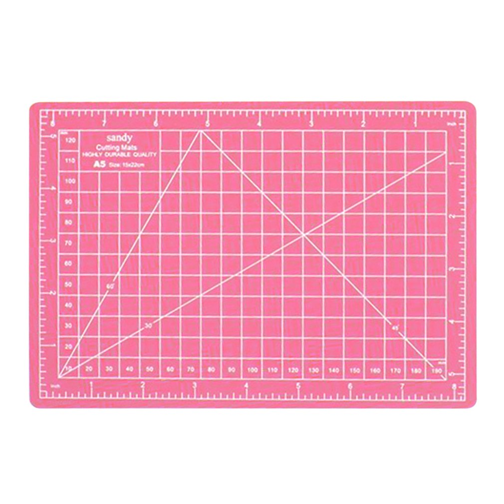 A5 Cutting Mat Single Sided Cutting Pat 22*15cm A5 Cutting Plate For Paper Sculpture Seal Production Self Healing