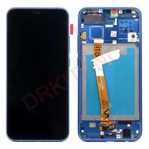 Image 3 - Дисплей DRKITANO для Huawei Honor 10, ЖК дисплей, сенсорный экран с рамкой для Honor 10, ЖК экран + Замена отпечатка пальца