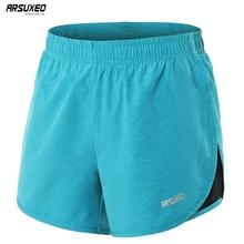ARSUXEO Women Breathable Running Shorts Marathon Quick-dry Fitness Yoga Training Underwear Clothes